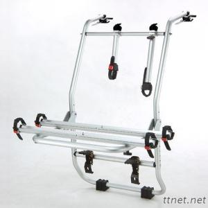 Rear Mounted Aluminum Alloy Bike Carrier, Car Rack