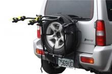 Spare-Tire Steel Bike Carrier